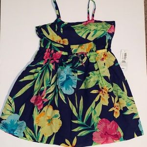 NWT 2T Tropical Dress Old Navy